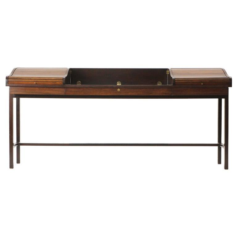 Roll Top Writing Desk by Edward Wormley