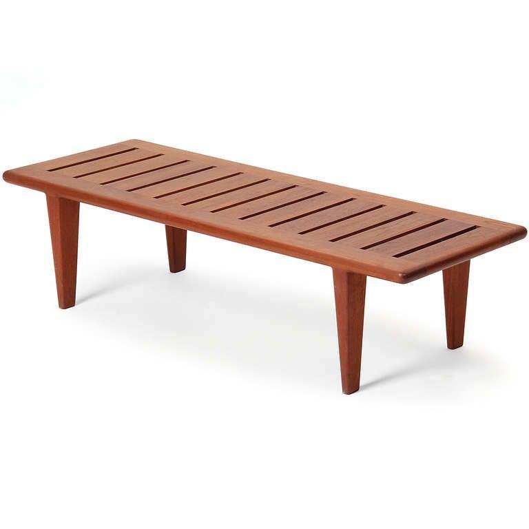 slatted bench by hans j wegner for sale at 1stdibs
