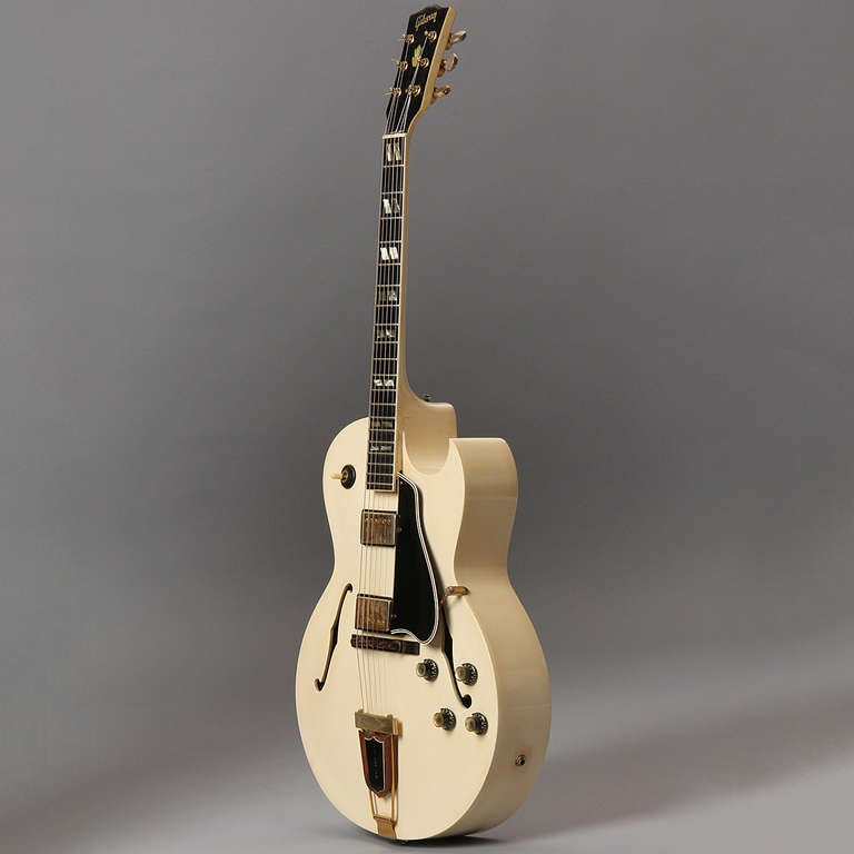 Ivory Lacquer, 1966 Gibson ES-175 Arch Top Guitar 4