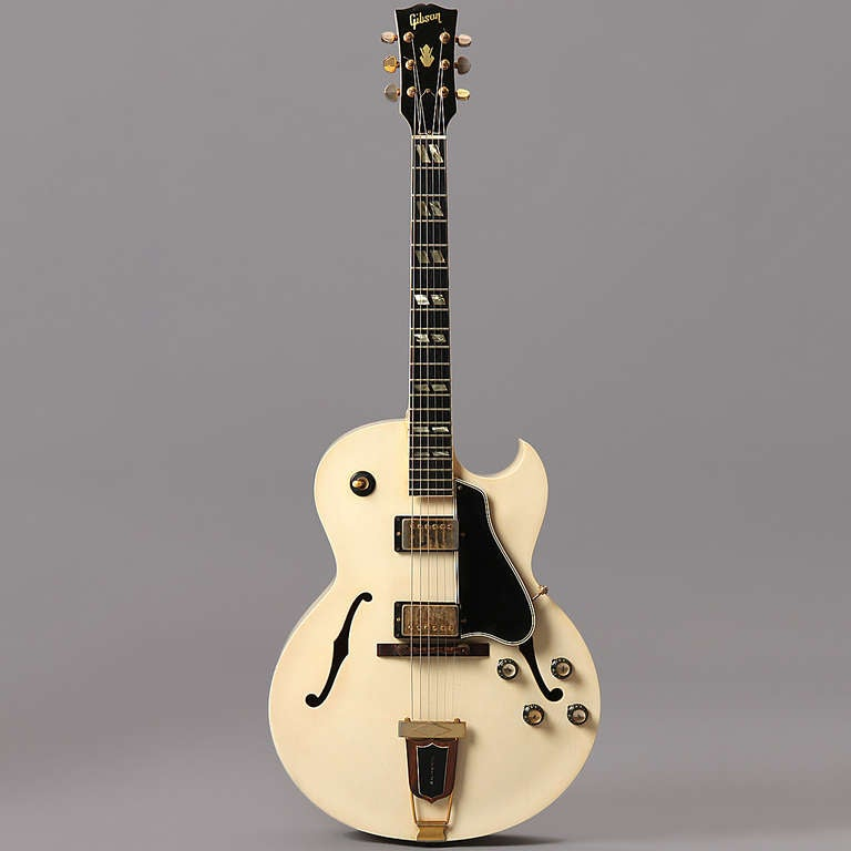 Ivory Lacquer, 1966 Gibson ES-175 Arch Top Guitar 2
