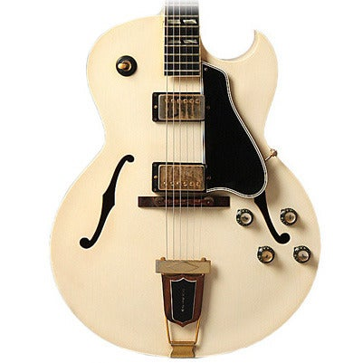 Ivory Lacquer, 1966 Gibson ES-175 Arch Top Guitar 1