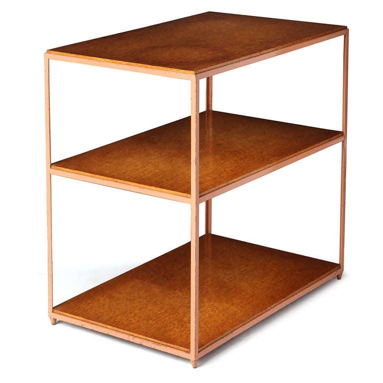 Burl Birch Shelf Unit For Sale 1