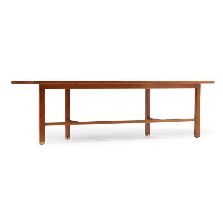 Mid-20th Century Asymmetrical Coffee Table by Edward Wormley For Sale