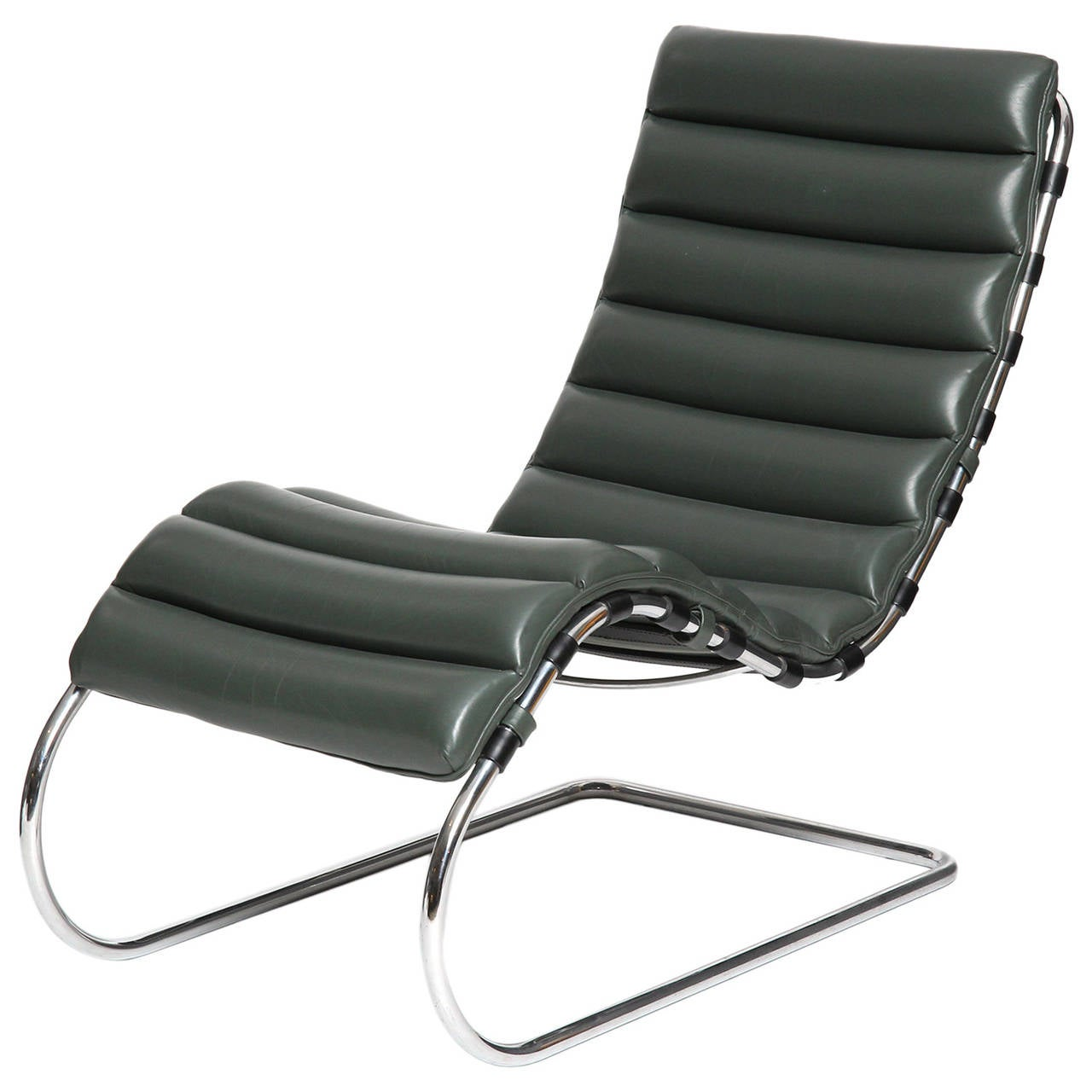 lounge chair by ludwig mies van der rohe at 1stdibs. Black Bedroom Furniture Sets. Home Design Ideas