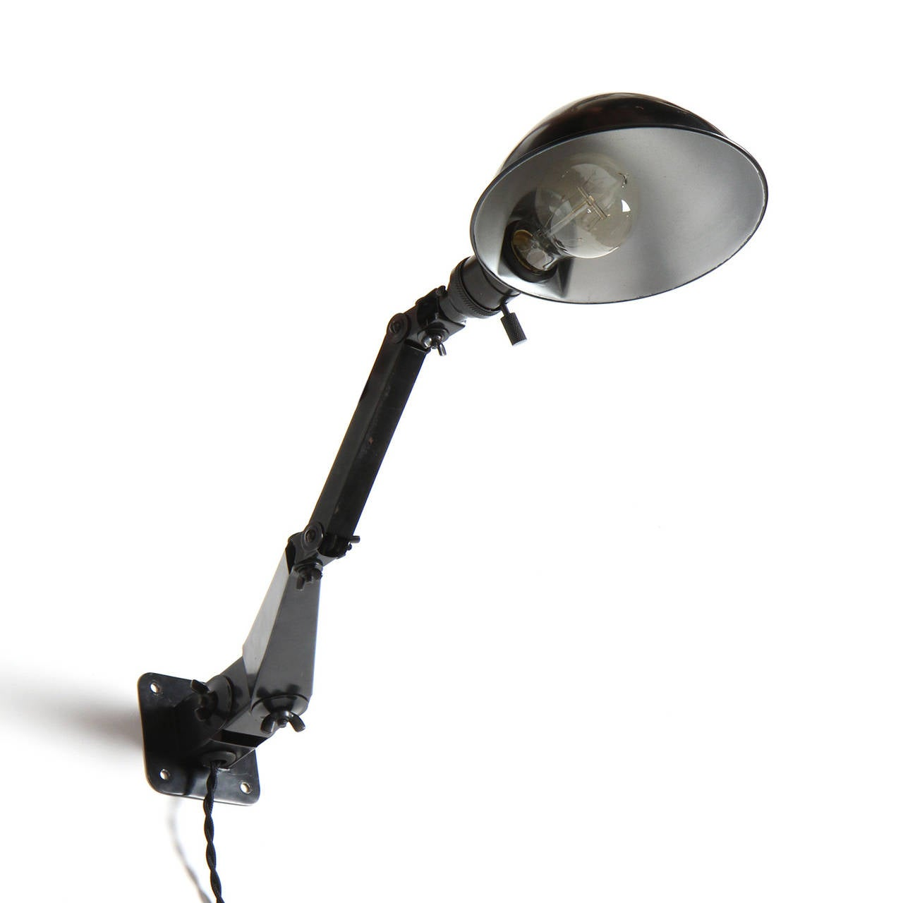 Wall Mounted Articulated Lamp : Industrial Articulated Wall Lamps For Sale at 1stdibs