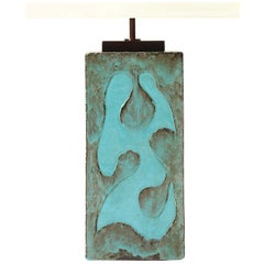 Relief Sculpture Table Lamp