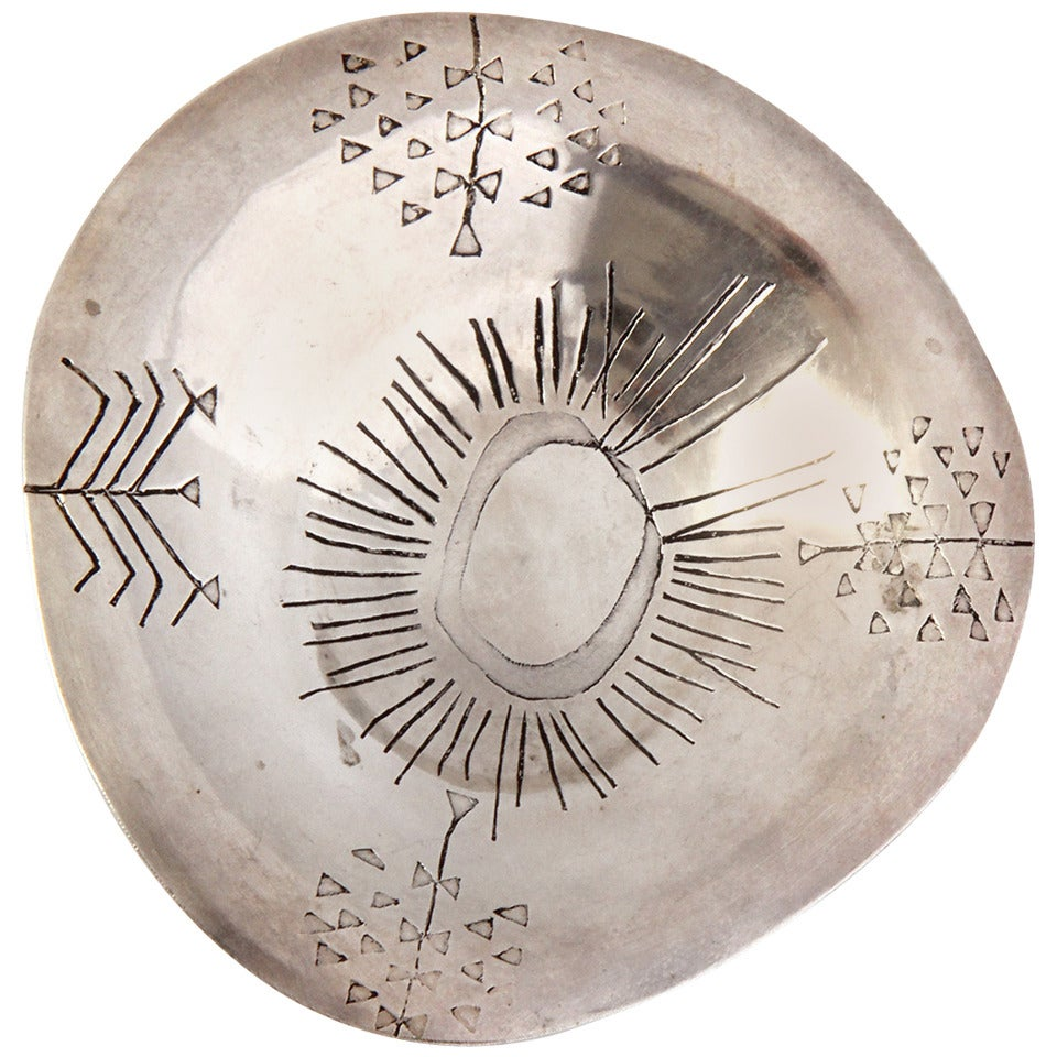 Silver Alloy Bowl by Tapio Wirkkala