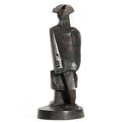 Cubist Bronze after Jacques Lipchitz