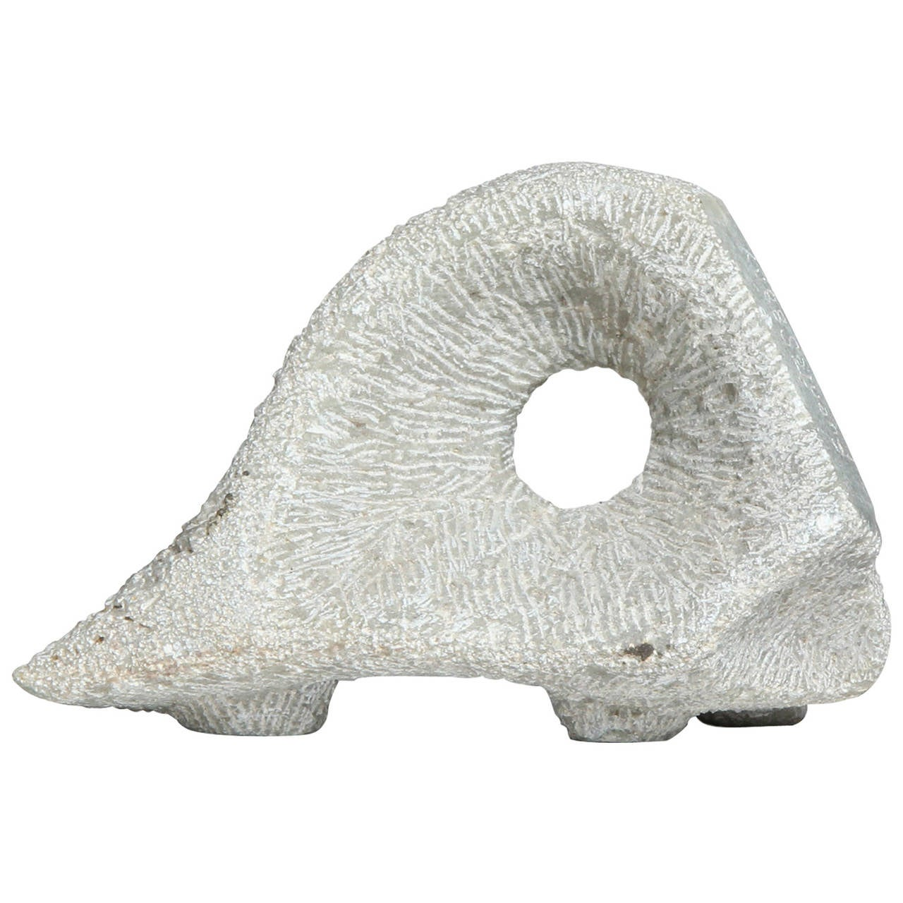 Pierced Abstract Sculpture