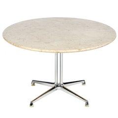 LaFonda Pedestal Table by Eames
