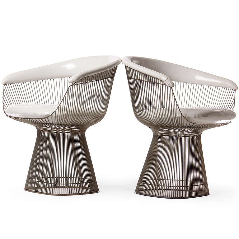 rare oval dining table and chairs by warren platner at 1stdibs