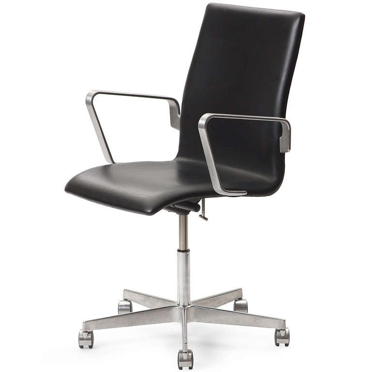 Oxford Desk Chair By Arne Jacobsen For Sale At 1stdibs