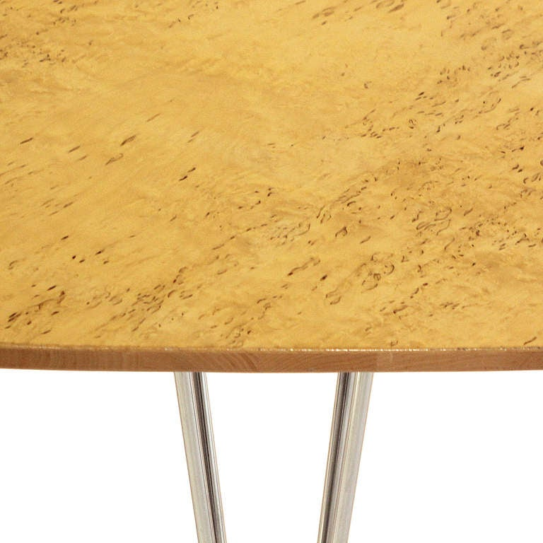 'Super Ellipse' Conference or Dining Table by Piet Hein In Good Condition For Sale In Sagaponack, NY