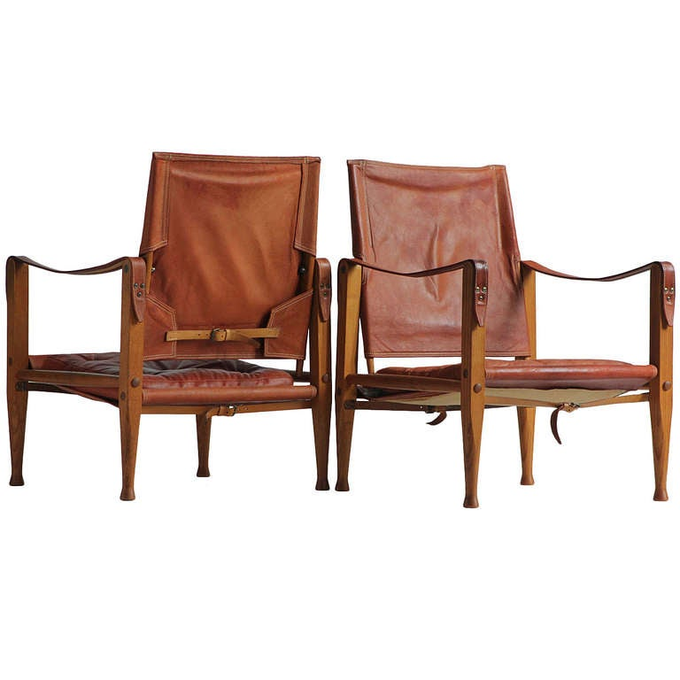 """""""The Safari Chairs"""" by Kaare Klint For Sale at 1stdibs"""
