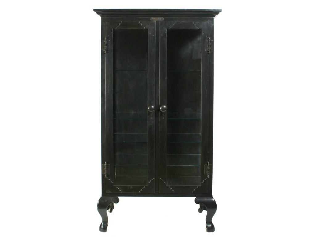 Cast Iron and Steel Industrial Cabinet image 2