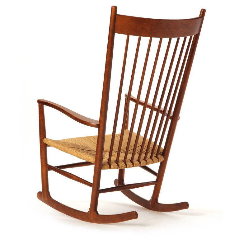 Shaker Rocking Chair by Hans J. Wegner 2 - Shaker Rocking Chair By Hans J. Wegner For Sale At 1stdibs