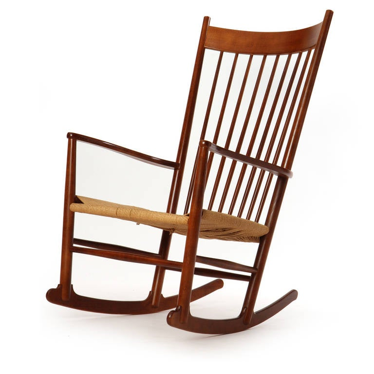 Shaker Rocking Chair by Hans J. Wegner For Sale at 1stdibs
