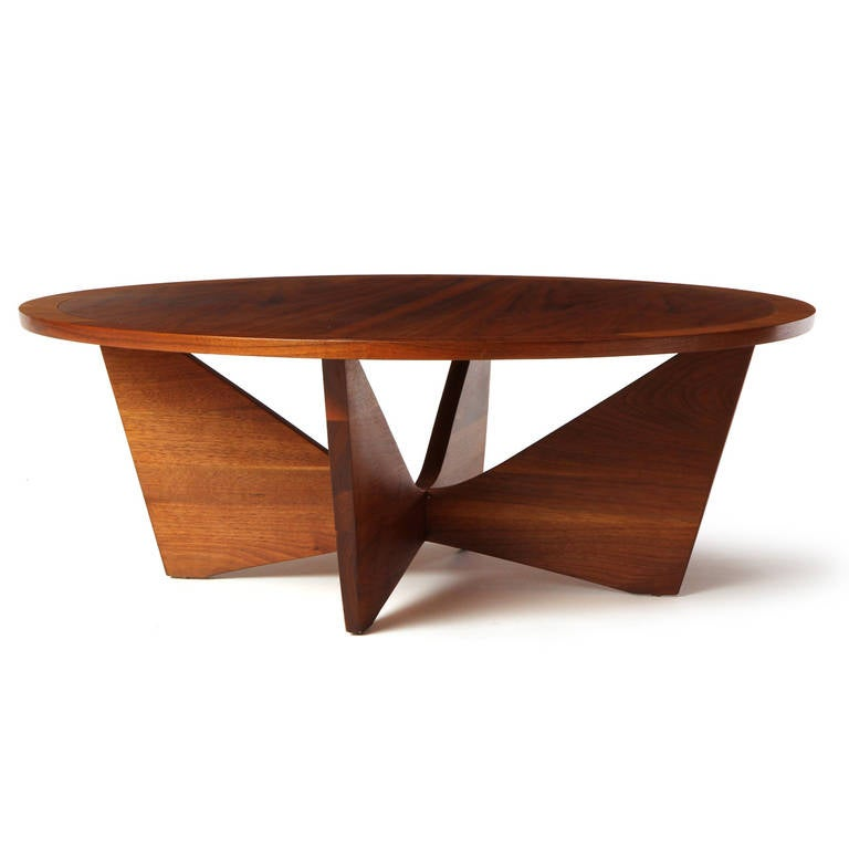 Butterfly Low Table By George Nakashima At 1stdibs