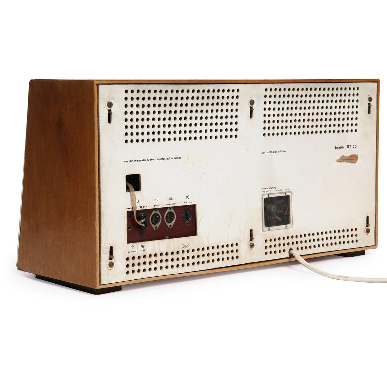 Mid-20th Century Desk Radio by Dieter Rams