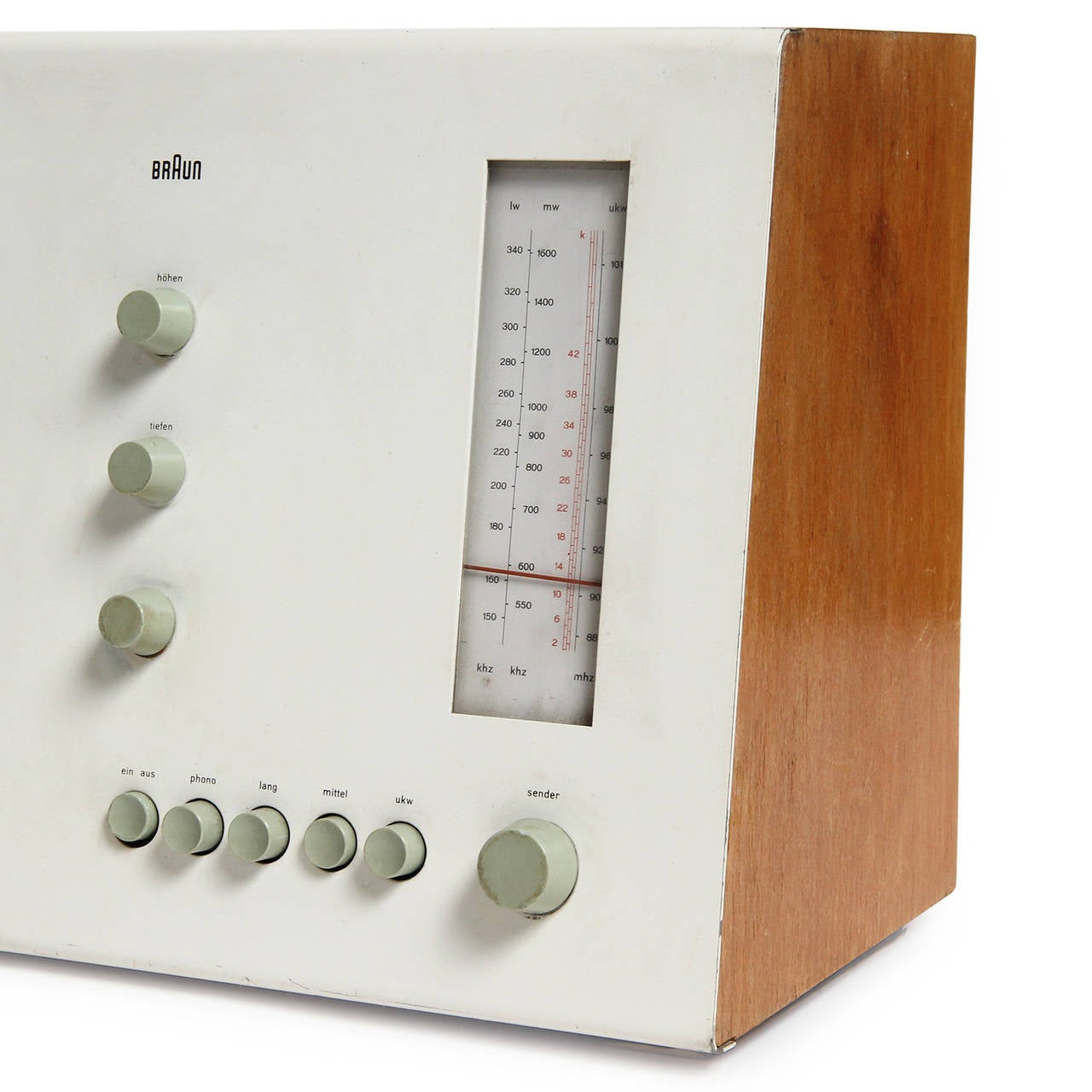 Desk Radio by Dieter Rams In Good Condition In Sagaponack, NY