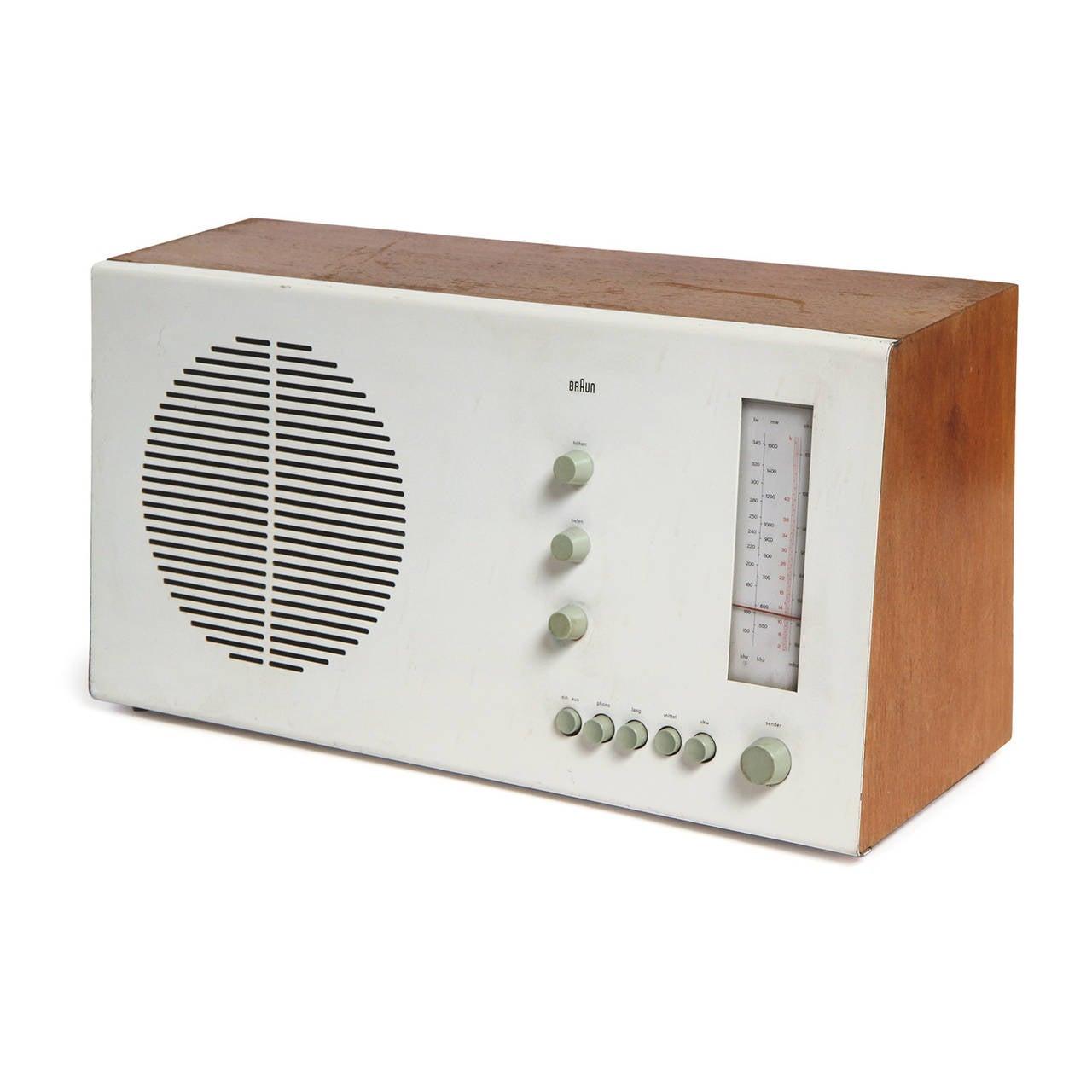 Mid-Century Modern Desk Radio by Dieter Rams