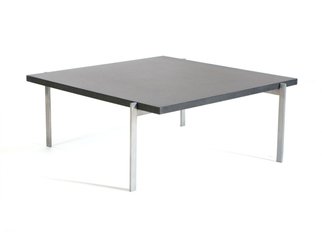 A Pk 61 Low Table By Poul Kjaerholm For Sale At 1stdibs