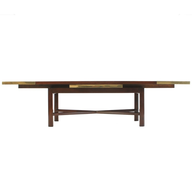 Extension low table by edward wormley at 1stdibs for Coffee table extension