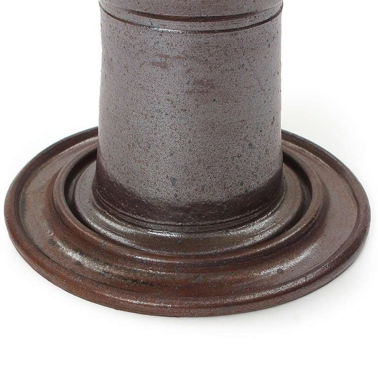 Unique ceramic pedestal table at 1stdibs - Ceramic pedestal table base ...
