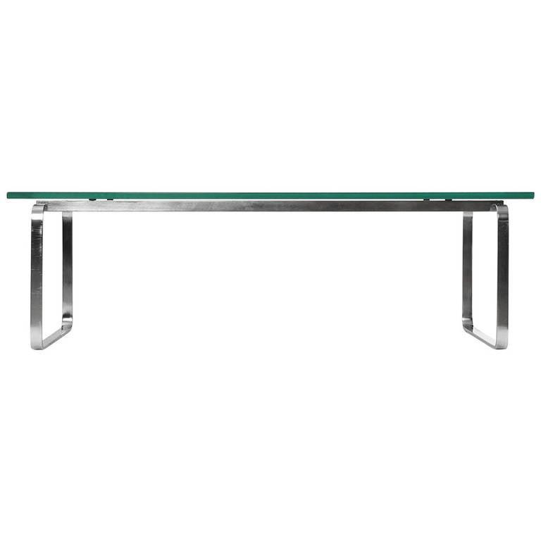 Continuous Leg, Low Table by Hans Wegner