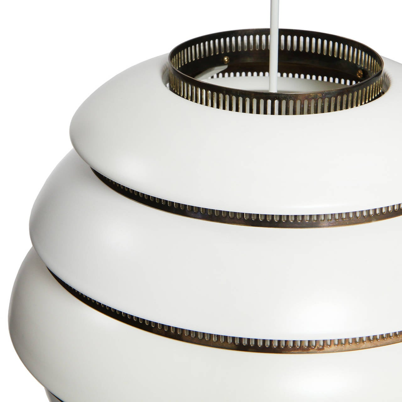 Finnish Ceiling Lamp by Alvar Aalto For Sale
