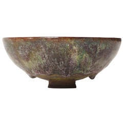 Exceptional Ceramic Bowl By Gertrude and Otto Natzler