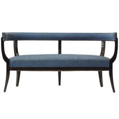 Sculptural Settee by Edward Wormley