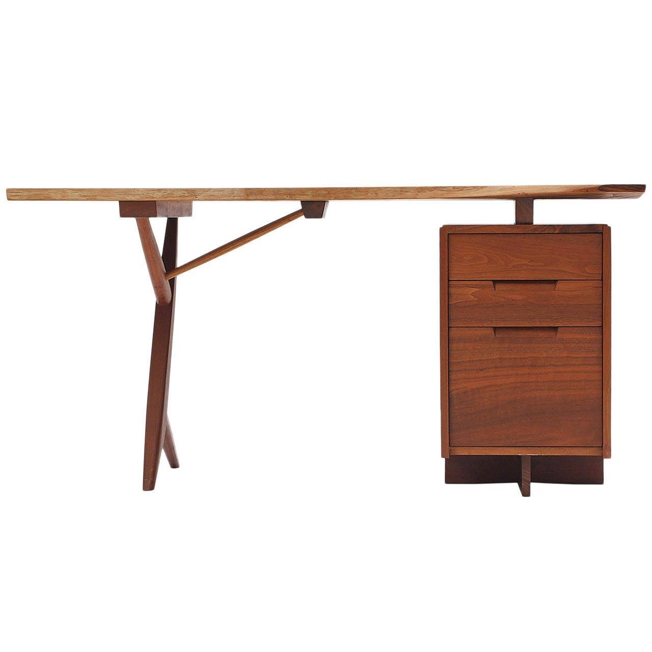 Conoid Desk By George Nakashima At 1stdibs