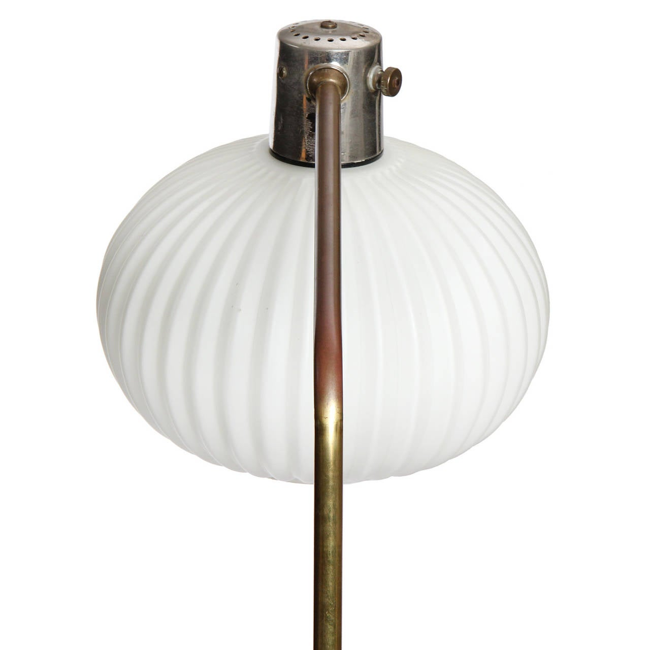 Articulated telescoping floor lamp for sale at 1stdibs for Led articulated floor lamp