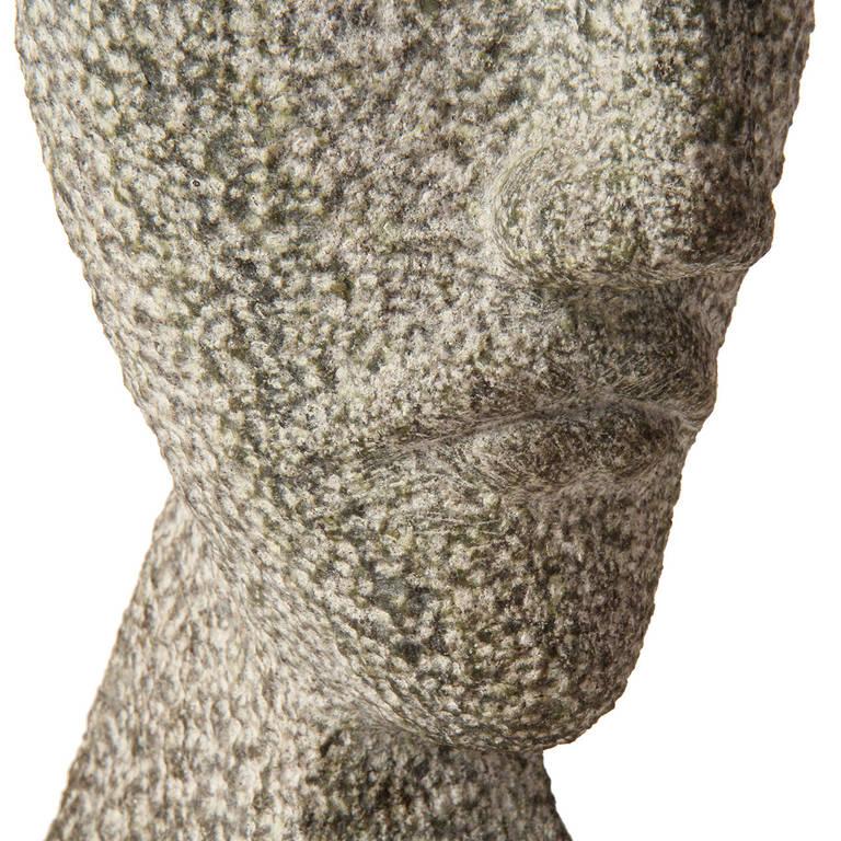 Carved Granite Bust For Sale 4
