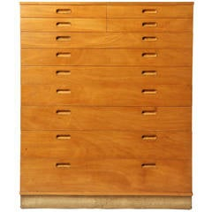 Tall Chest of Drawers by Edward Wormley