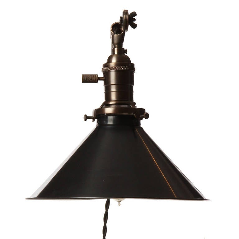 Wall Mount Articulating Lamp : Articulating Wall Lamp by O.C. White For Sale at 1stdibs