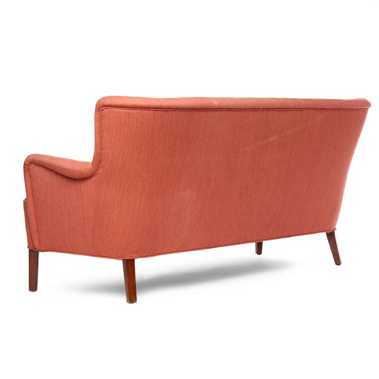 High-Backed Sofa by Hvidt and Molgaard