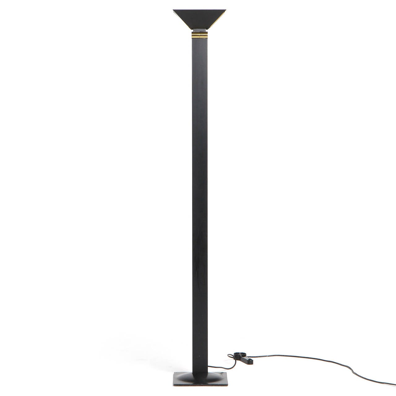 Architectural Floor Lamp by F. Fabian 1 - Architectural Floor Lamp By F. Fabian For Sale At 1stdibs