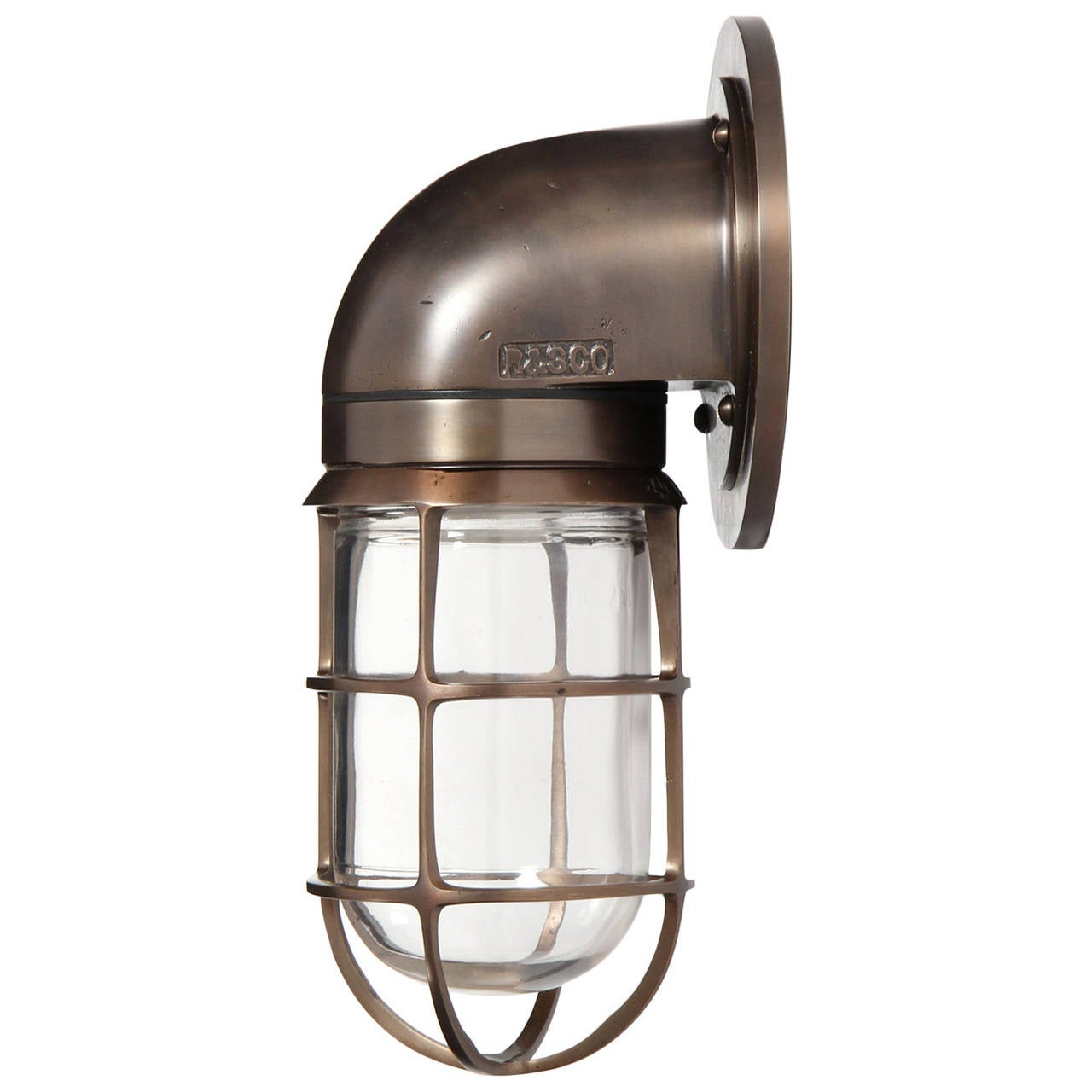Wall Mounted Patio Lights : Russell and Stoll Outdoor Wall-Mounted Light For Sale at 1stdibs