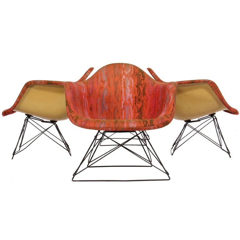 Set of LAR Chairs by Charles and Ray Eames