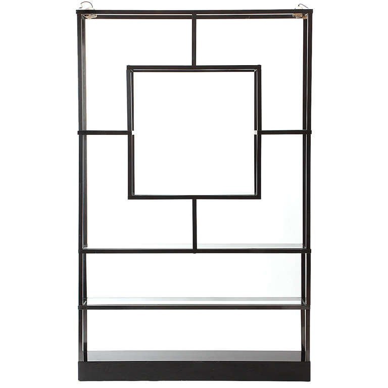 Etagere by maison jansen at 1stdibs - Etagere cases carrees ...
