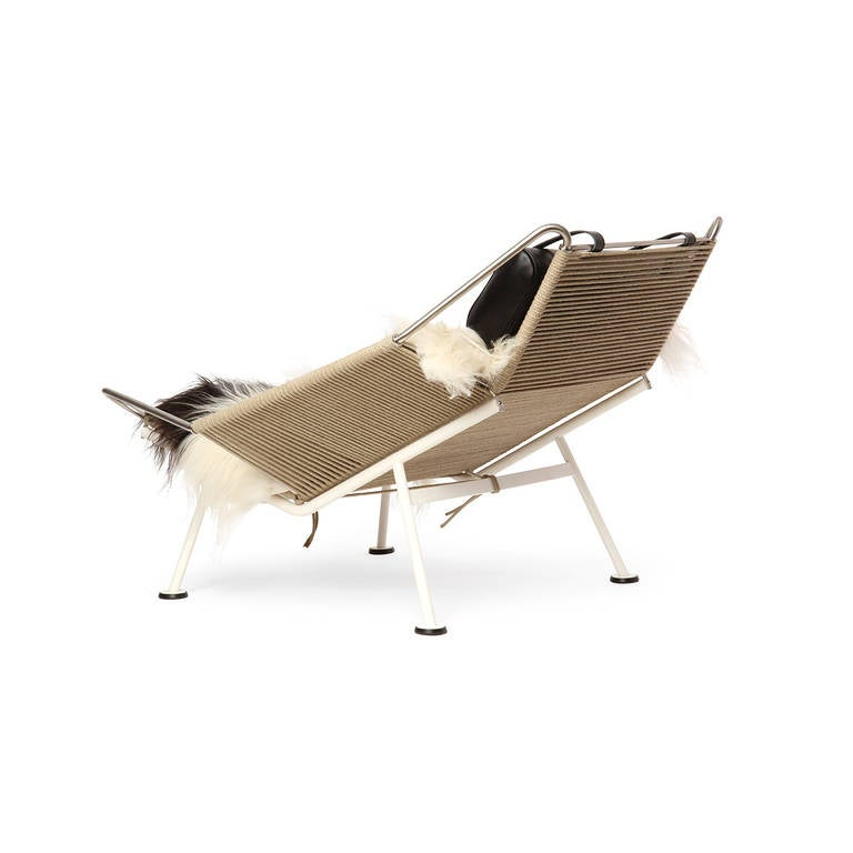 Danish The Flag Halyard Chair by Hans J. Wegner For Sale