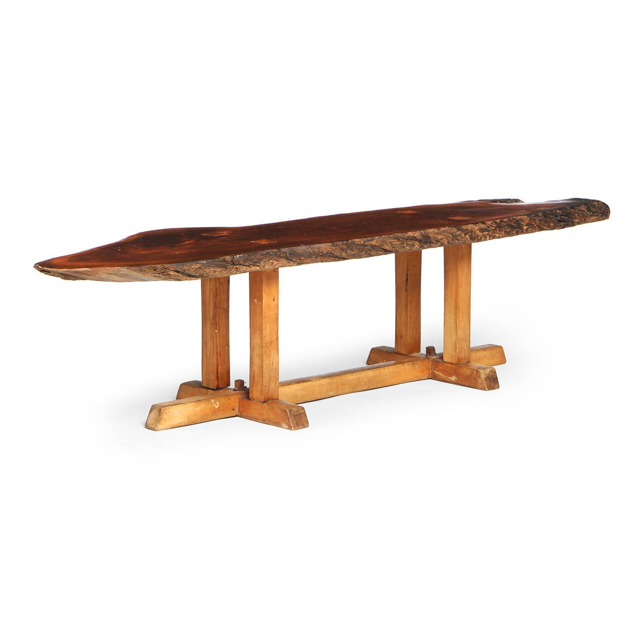 American Craftsman Low Table by Jeffrey Greene For Sale