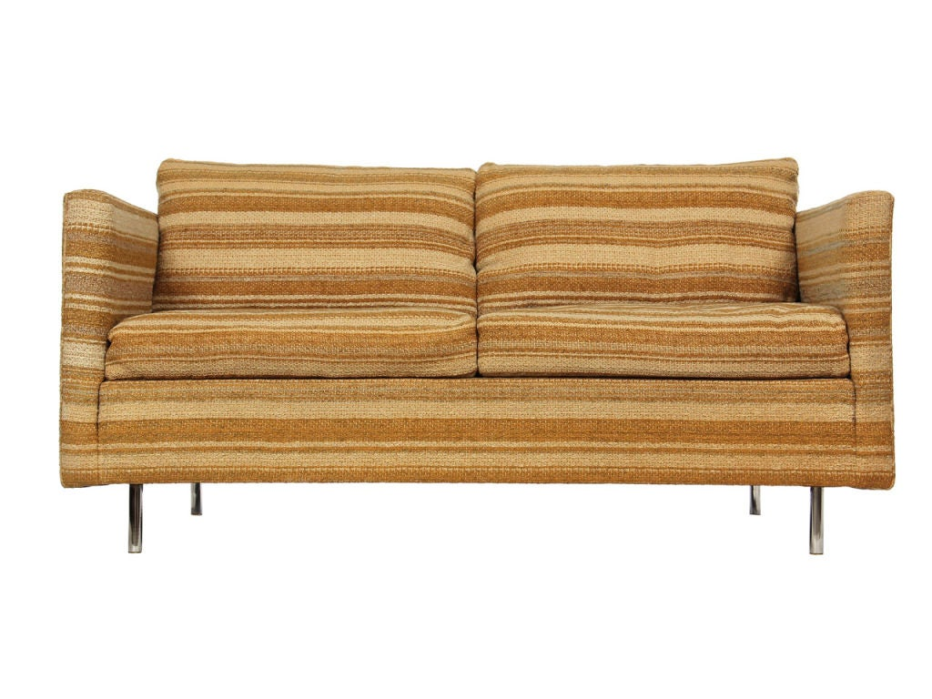 Even Arm Chair And Loveseat By George Nelson At 1stdibs