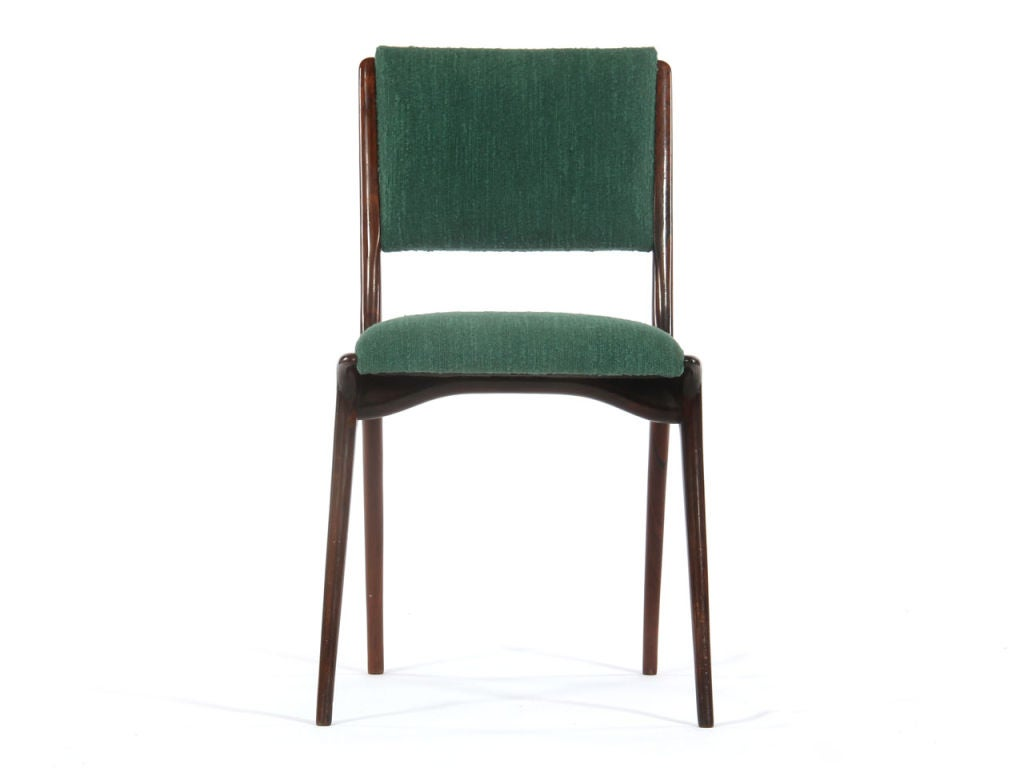 Set Of 8 Rosewood Dining Chairs At 1stdibs