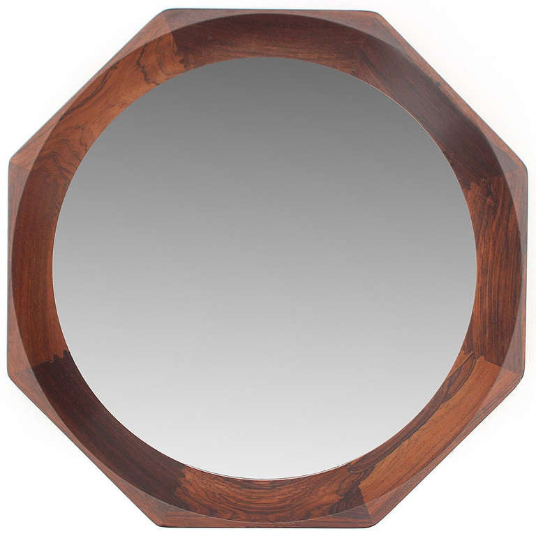 Octagonal Wall Mirror For Sale