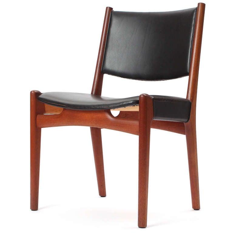 Danish Side Chair by Hans J. Wegner For Sale