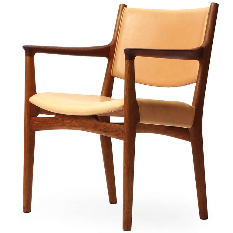 Danish Pair of Armchairs by Hans Wegner For Sale
