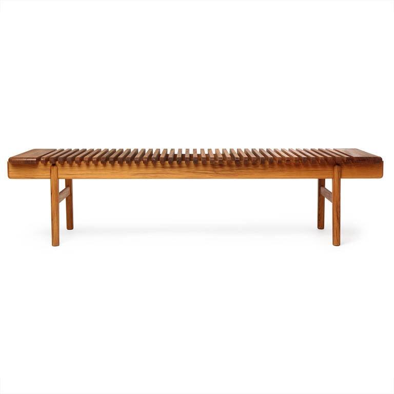 Bench Bar For Sale: The Bar Bench By Hans J. Wegner For Sale At 1stdibs